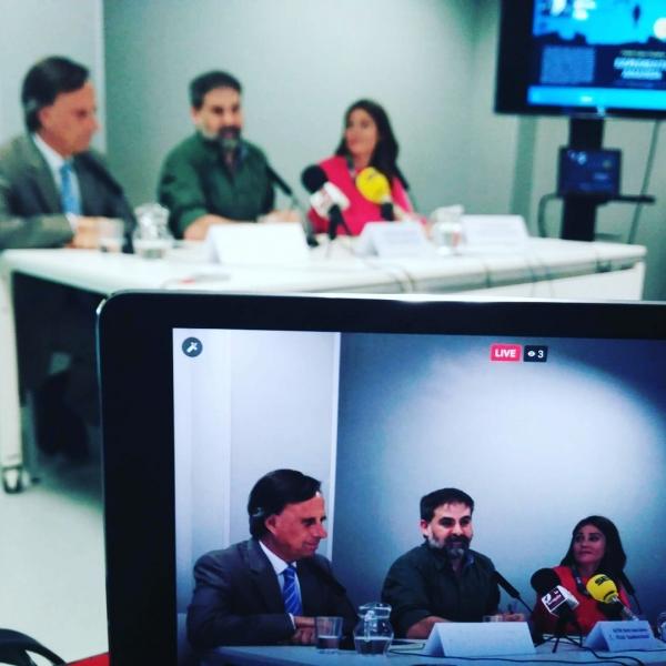 Presentación libro Expediente Ananda de Nacho López Llandres en Alcobendas