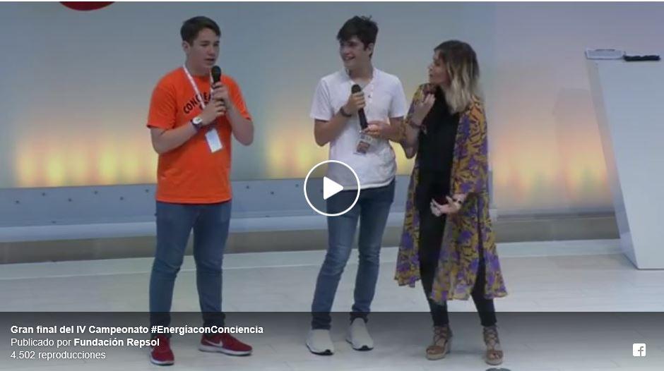 """Marina Estacio, vídeo presentación evento """"Energía con Conciencia"""" de Fundación Repsol"""