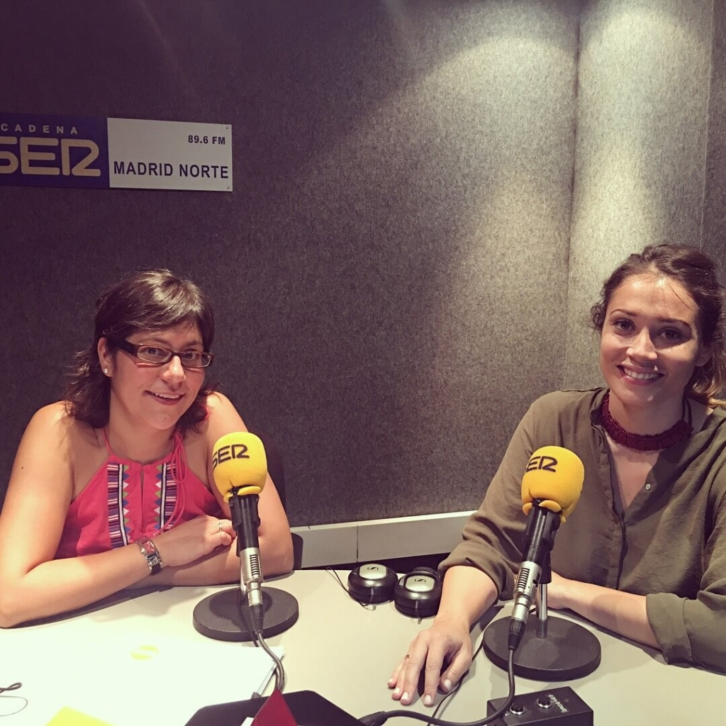 Entrevista a Marina Estacio en Cadena Ser Madrid Norte para hablar de The Water Van Project (Ayuda en Acción)