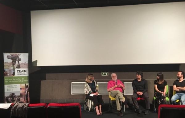 """Marina Estacio, maestra de ceremonias estreno del corto """"Que el fin del mundo te pille bailando"""" junto a CEAR"""