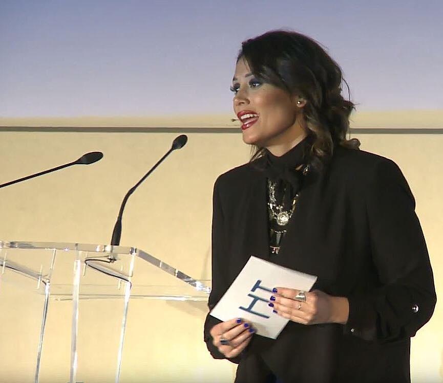 Marina Estacio, presentación evento corporativo Health Time (HT)